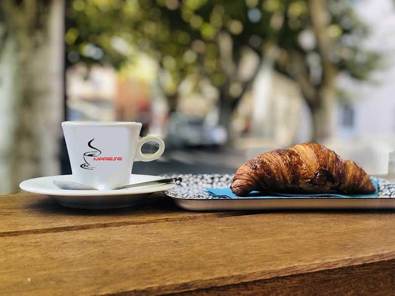 Kaffee in Bäckereien anbieten
