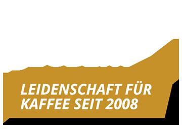 Leidenschaft für Kaffee seit 2008